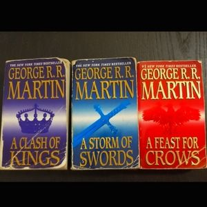 ⚡Sale⚡📚Game of Thrones books📚